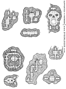 Barrow Mounds of the Lich & Famous III
