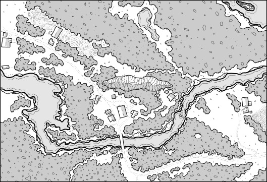 Prince's Harbour - Map 1 (no hexes)
