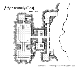 Athenaeum of the Lost - Upper Level