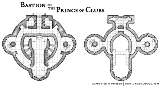 Bastion of the Prince of Clubs