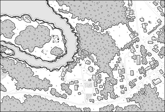 Prince's Harbour - Map 2 (no hexes)