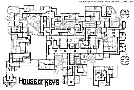 House of Keys - Ground Floor