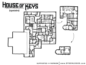 House of Keys - Upstairs