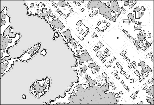 Prince's Harbour - Map 3 (no hexes)