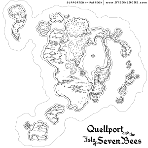 Quellport & the Isle of Seven Bees