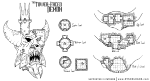 The Tower-Faced Demon
