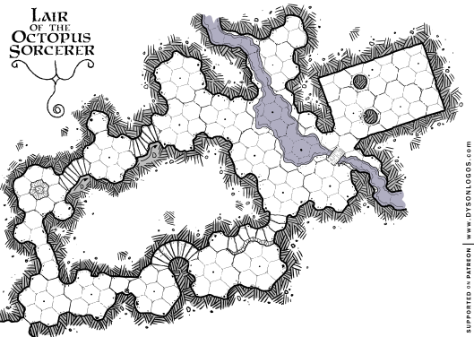 Lair of the Octopus Sorcerer