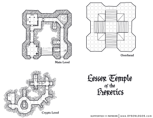 Lesser Temple of the Heretics