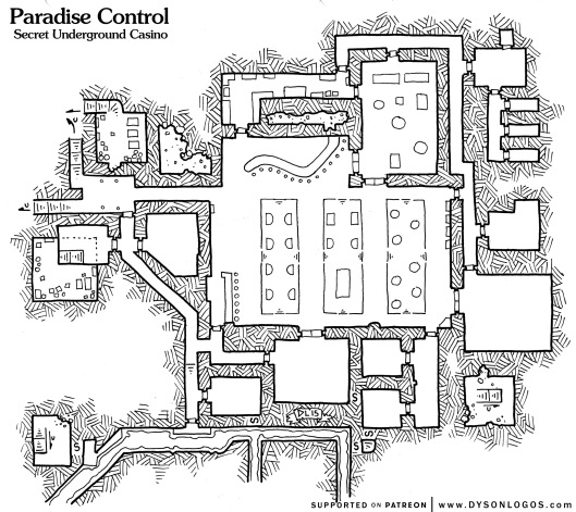 Paradise Control (no grid)