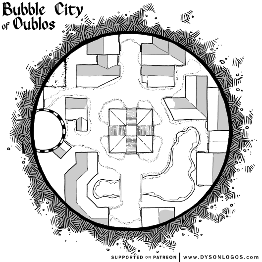 The Bubble City of Oublos (no grid)