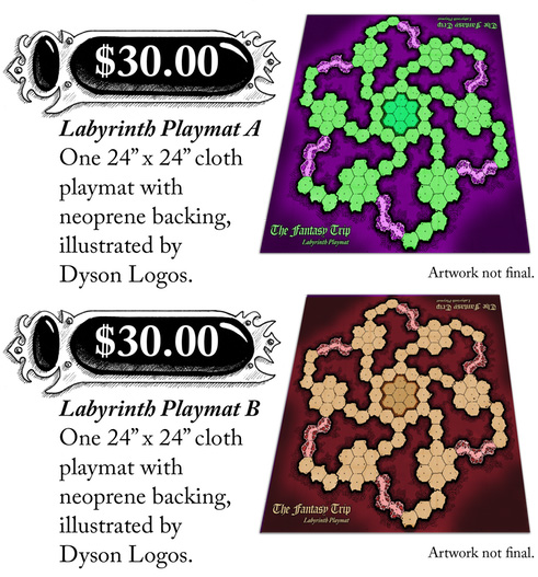 Labyrinth Playmats