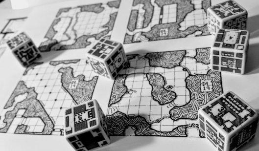 Dungeonmorph Dice & New Geomorphs