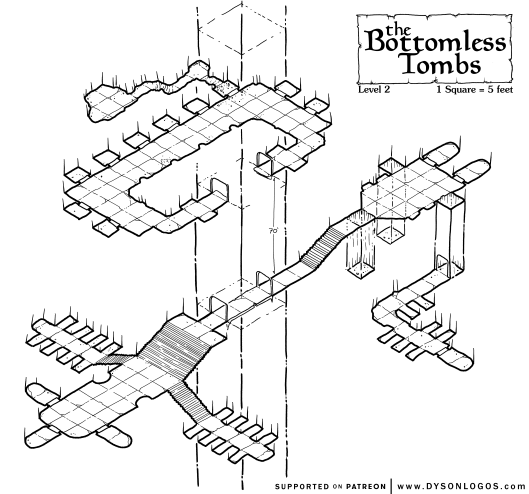 The Bottomless Tombs - Level 2