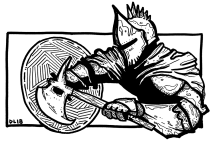 033 - Axe and Shield 150