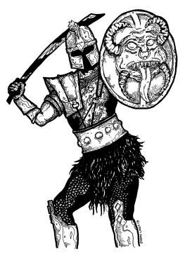 041 - Demon Shield Warrior 150