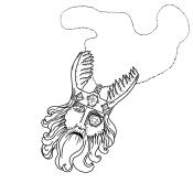 120 - Amulet of the One-Eyed God (no ink)