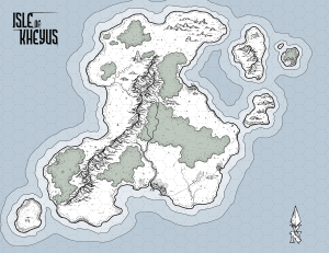 Isle of Kheyus (Colour)