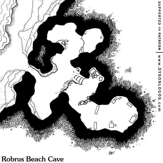 Robrus Beach Cave (no grid)