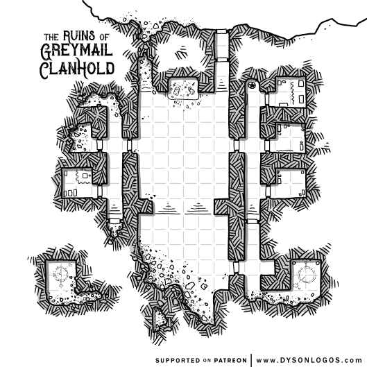 The Ruins of Greymail Clanhold