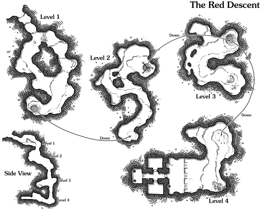 The Red Descent (no grid)