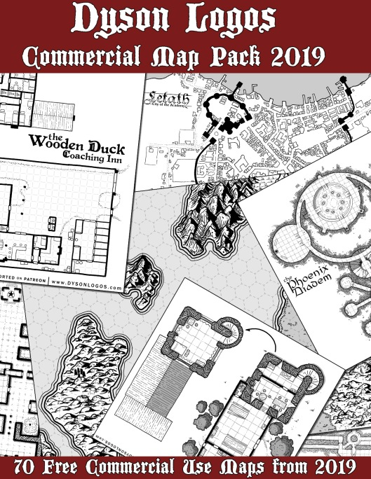 2019 Commercial Map Pack