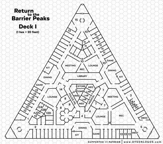 Return to the Barrier Peaks - Deck I