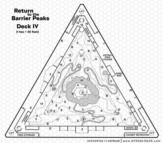 Barrier Peaks – Deck IV