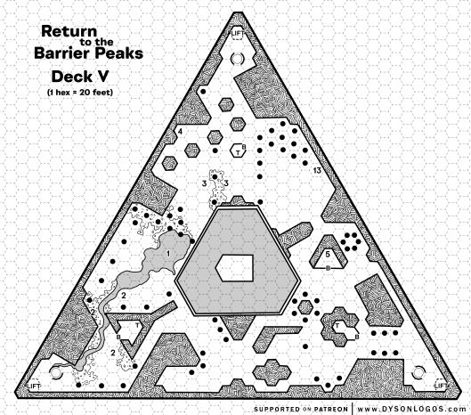 Return to the Barrier Peaks - Deck V