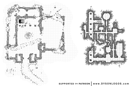 The Old Fort Ruins & Dungeon