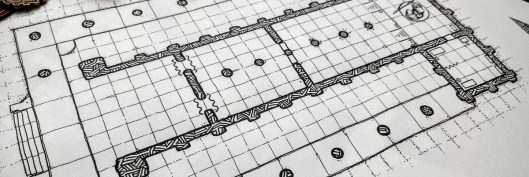 Gladiators Temple DnD Map