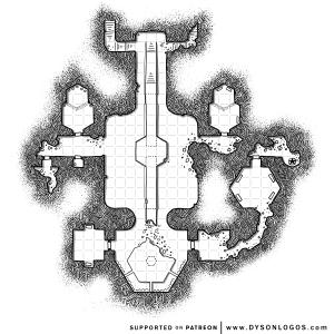 Esothil's Sanctum (1200 dpi)