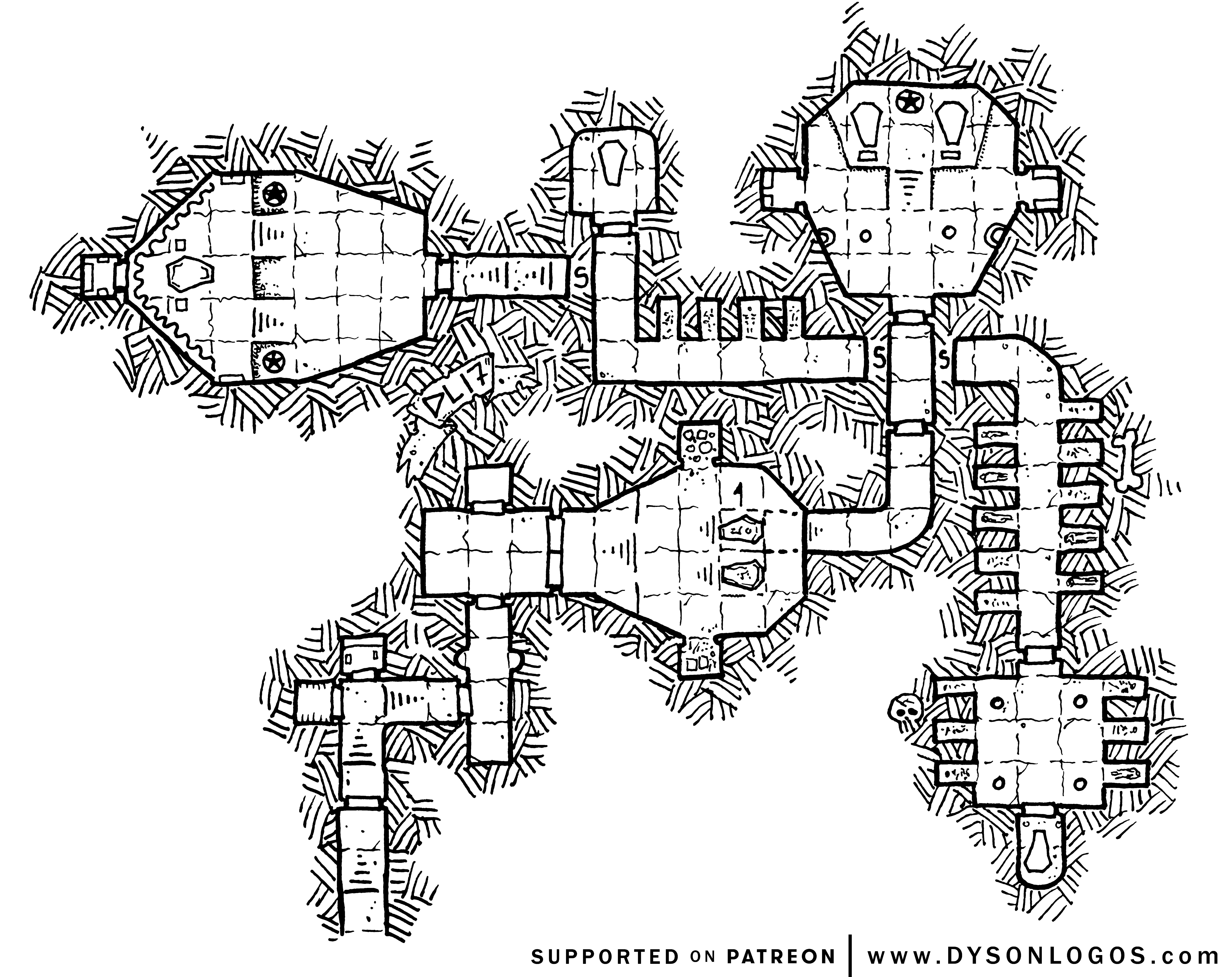 The False Tombs (1200 dpi)