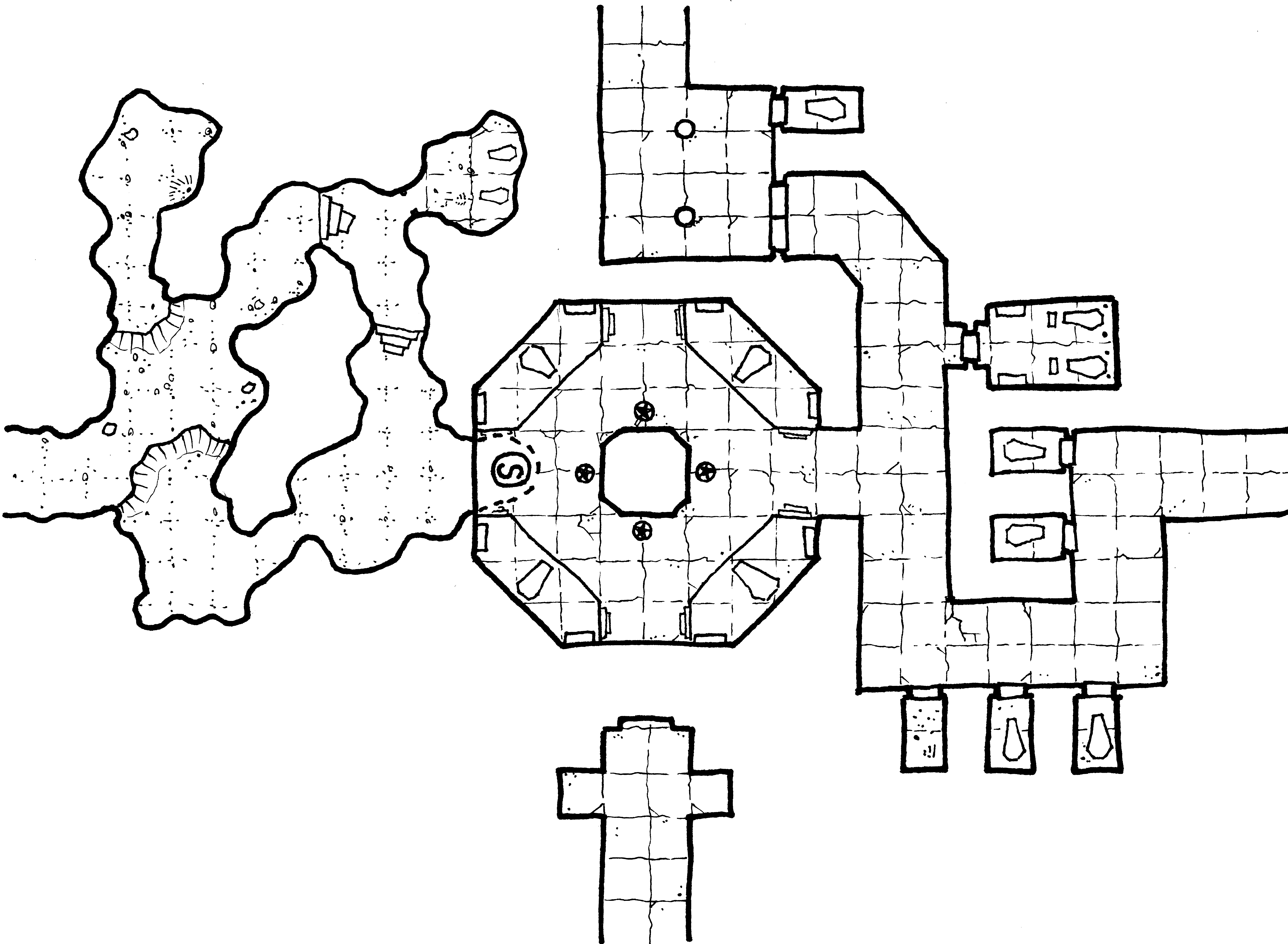 Crypts of the Lich Lord – Geomorph 10