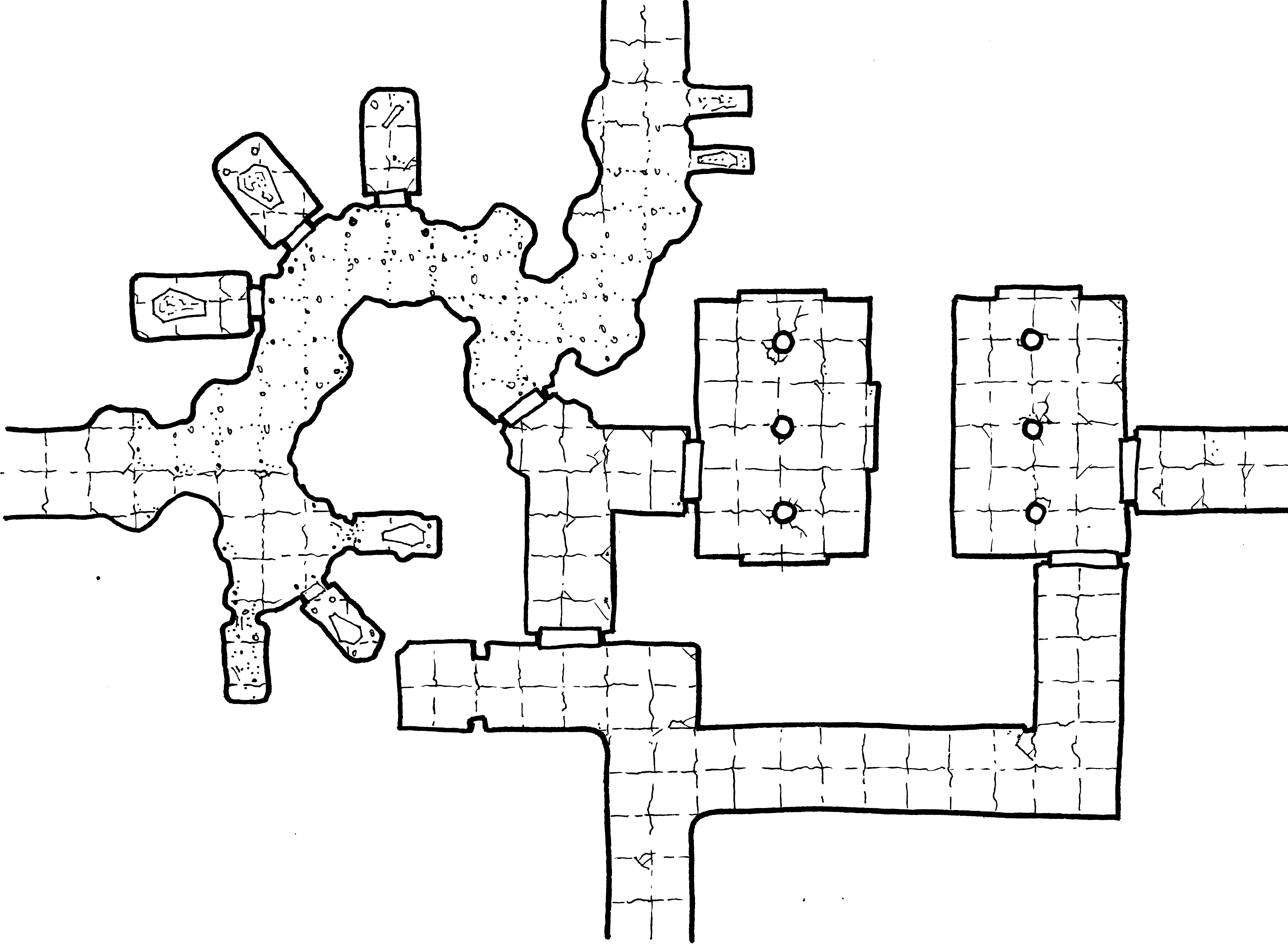 Crypts of the Lich Lord – Geomorph 5