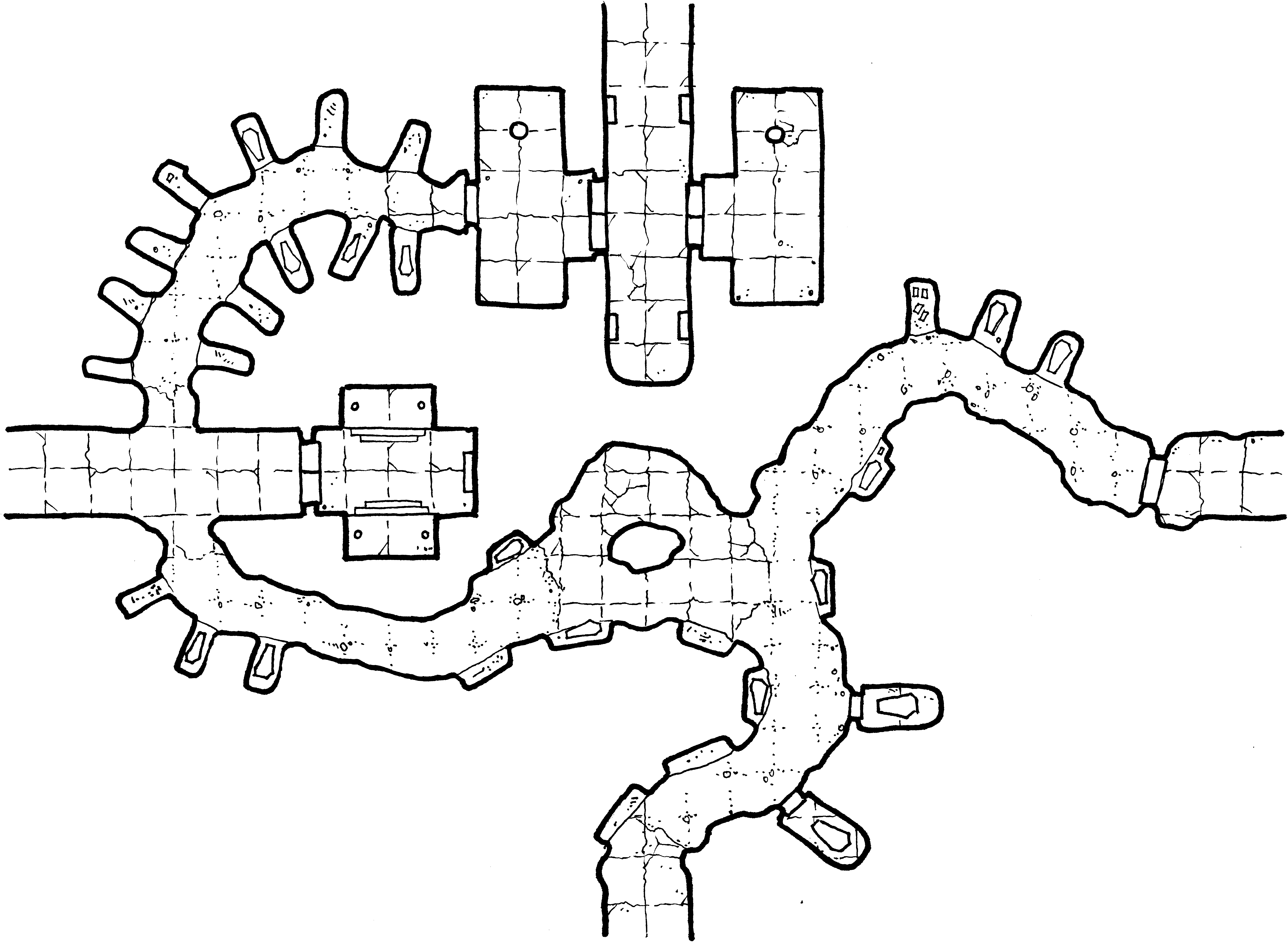 Crypts of the Lich Lord – Geomorph 9