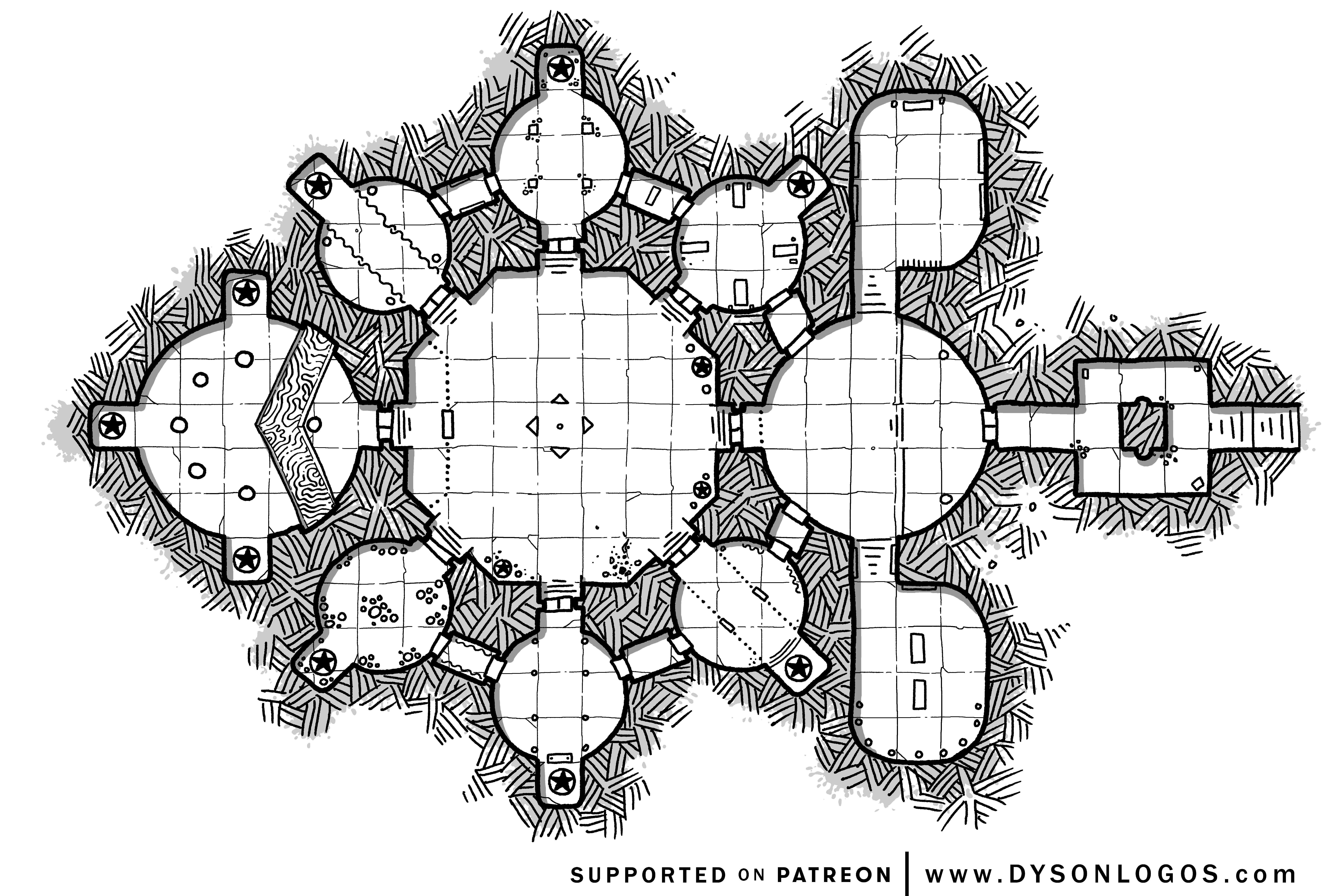 Sanctuary of the Magi (1200 dpi)