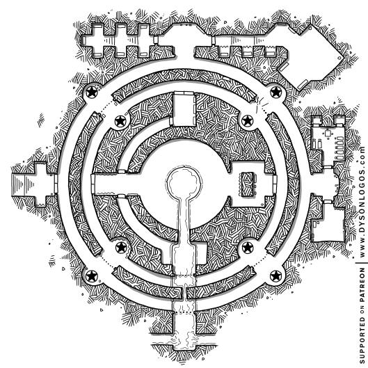 The Circles of Keténgku's Contemplations (1200dpi - no grid)
