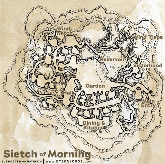 Sietch of Morning (300 dpi promotional - no commercial license)