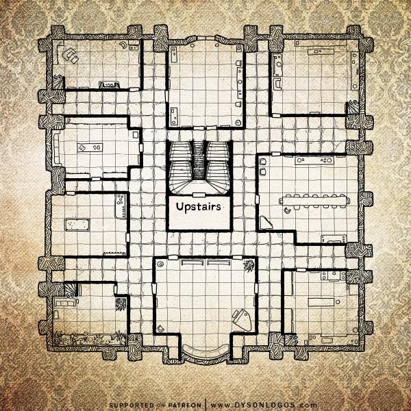 Clue Mansion (300dpi promotional)