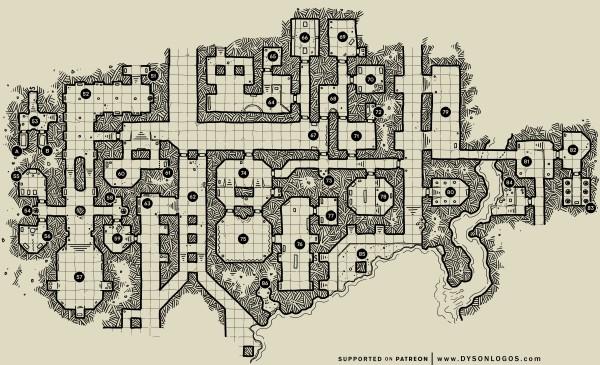 The Ochrenvault – Map 2