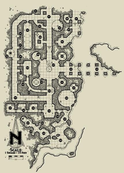 The Ochrenvault - Map 3