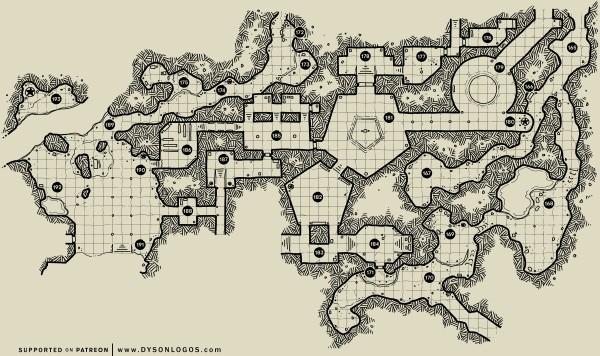 The Ochrenvault - Map 5
